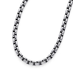 "20"" titanium chain 7.2mm link"