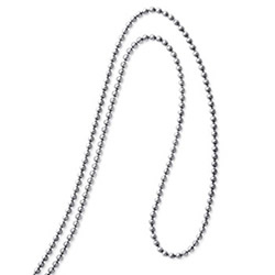 "20"" titanium chain 2.3mm ball"