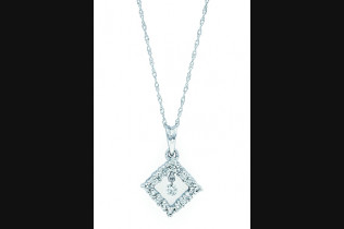 G8109 Shimmering Diamonds Pendant 0.06ctw