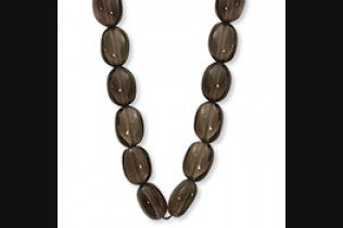 Smokey Quartz Bead Necklace